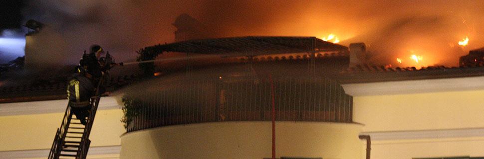 combate incêndio edifícios